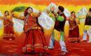 लोकपरंपरा व संस्कृति के रंगों से सराबोर हुई कुंभनगरी