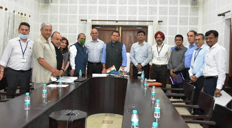 भारतीय उद्योग परिसंघ के पदाधिकारियों ने मुख्यमंत्री से की भेंट