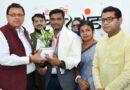 अर्जुन अवार्ड प्राप्तकर्ता मनोज सरकार को सीएम ने किया सम्मानित