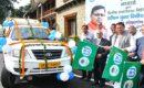 उत्तराखण्ड ग्रामीण बैंक की एटीएम युक्त वित्तीय साक्षरता वाहनों का सीएम ने किया फ्लैग ऑफ