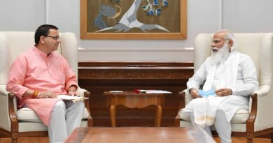 सीएम धामी ने प्रधानमंत्री नरेन्द्र मोदी को जन्मदिन पर दी बधाई