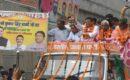 मुख्यमंत्री ने किया भगवानपुर में जन आशीर्वाद रैली में प्रतिभाग